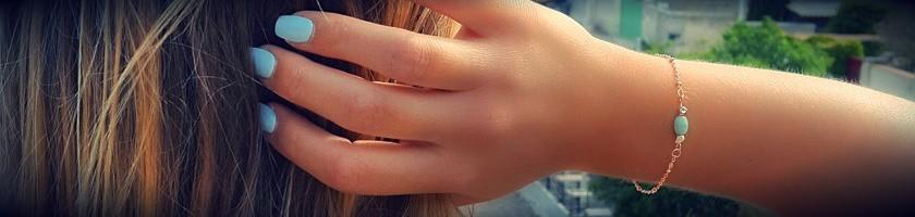 Bracelets pour femme dorés à l'or fin rose, plaqués or rose
